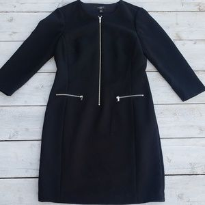 Ann Taylor Petites Knit Sheath Dress